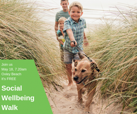 Join us on our Social Wellbeing Walk--