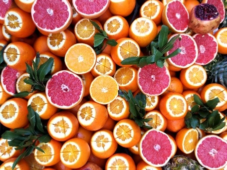 Can an orange a day keep the doctor away?--