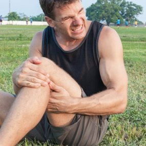 How to treat a muscle strain? image